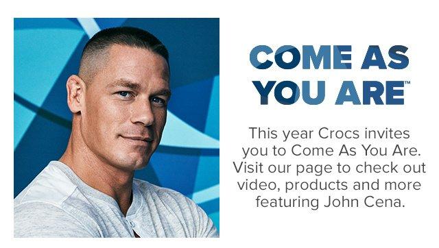 Cena fabryczna sklep dyskontowy sekcja specjalna Crocs: Check out superstar John Cena in our Swiftwater ...