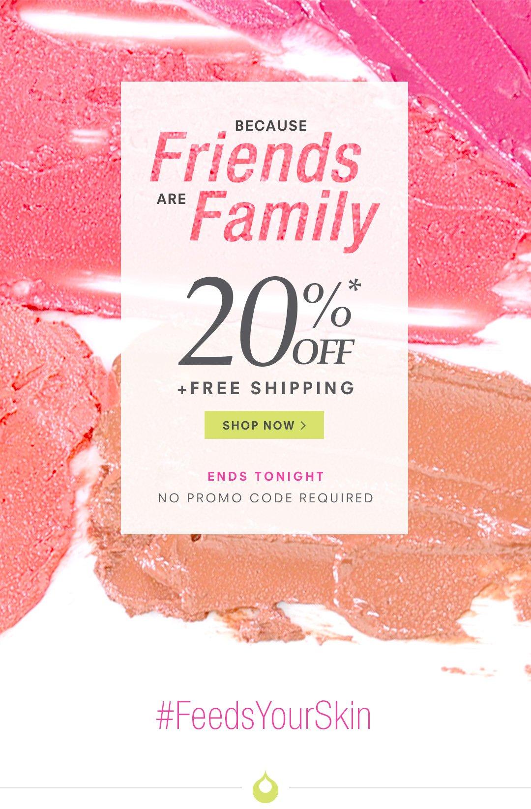 Enjoy 20% Off + Free US Shipping!*