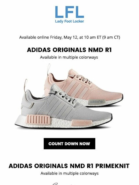 1447c7010a3d9 Lady Foot Locker  adidas Originals NMD R1 and NMD R1 Primeknit – available  5.12