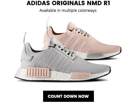 2854b5781 Lady Foot Locker  adidas Originals NMD R1 and NMD R1 Primeknit ...