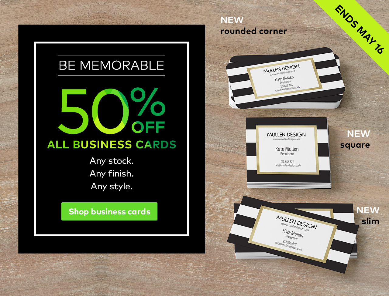 Vistaprint: We ♥ savings | 50% off business cards + up to 40% off ...