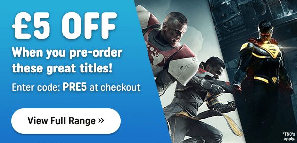 Pre-Order Upcoming Games Online Now!