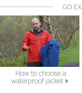 How to choose a waterproof jacket