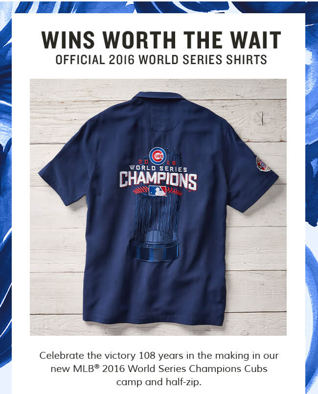 innovative design d0ed7 dc49f Tommy Bahama: Cubs Championship Gear Is Here! | Milled