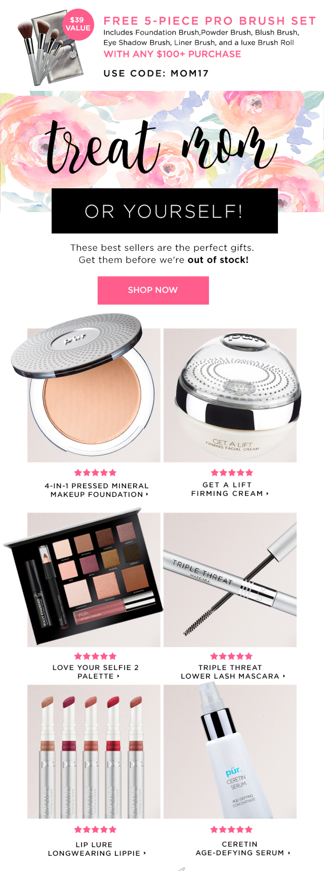 Shop Gifts for Mom | PÜR The Complexion Authority™