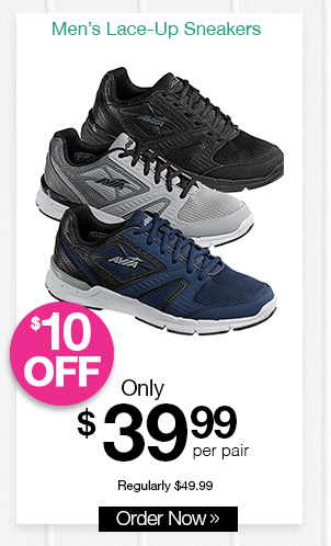 Shop Avia Lace-Up Sneakers