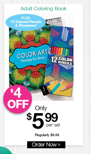 Shop Color Therapy Adult Coloring Book