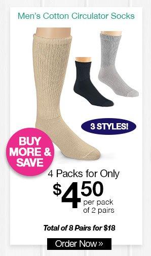 Shop HealthRite Cotton Circulator Socks