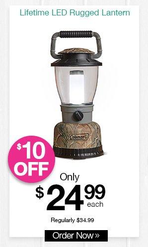 Shop Coleman Lifetime LED Rugged Lantern