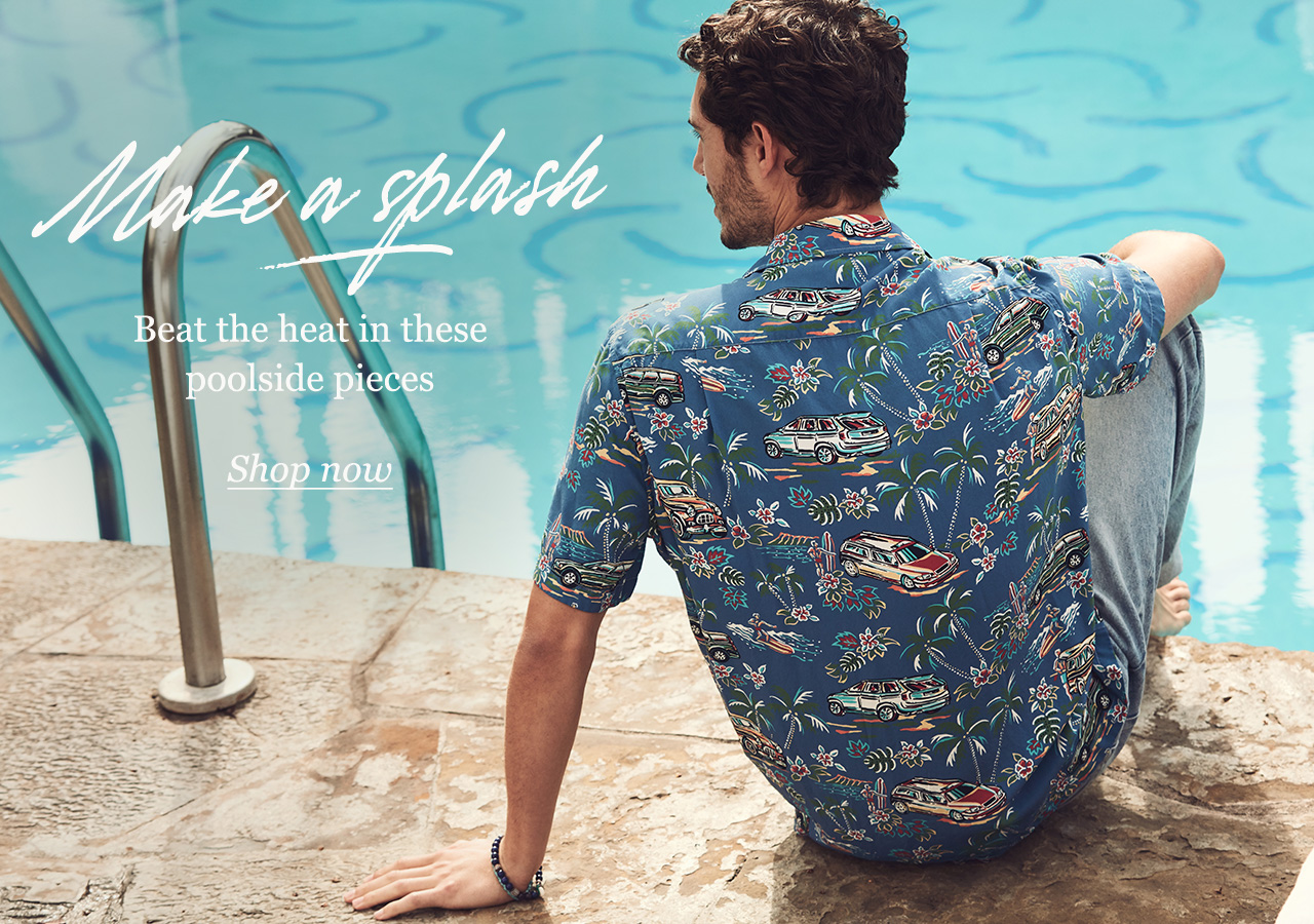 Mr Porter: How To Dress For A Pool Party | Milled