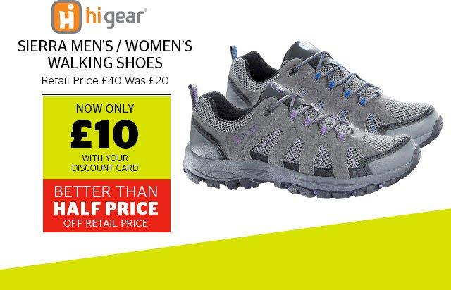 Hi Gear Sierra Men's / Women's Walking Shoes