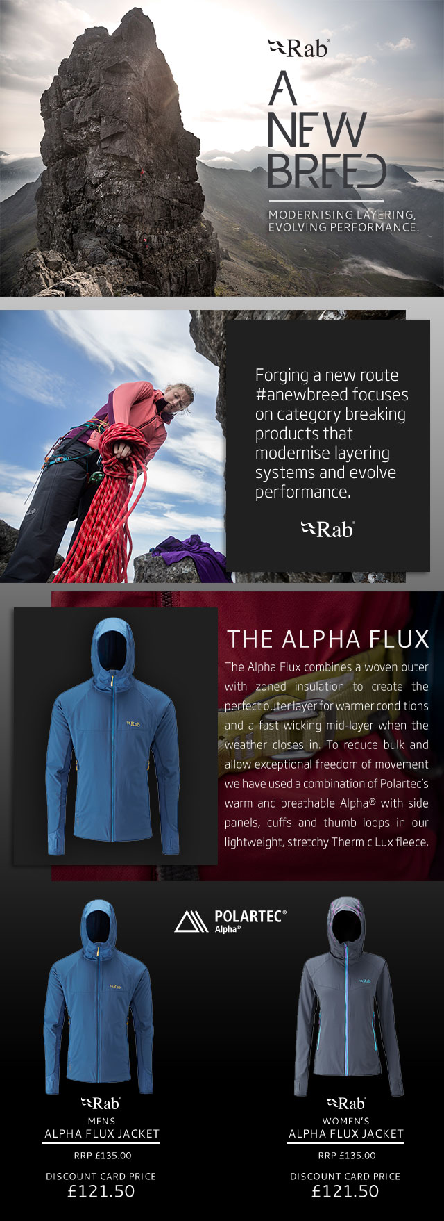 Rab Alpha Flux