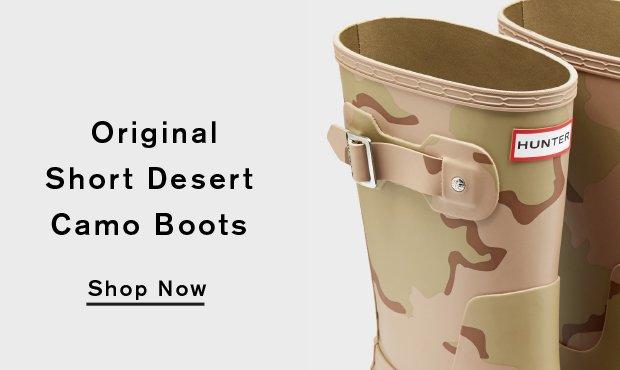Original Short Desert Camo Boots: Shop Now
