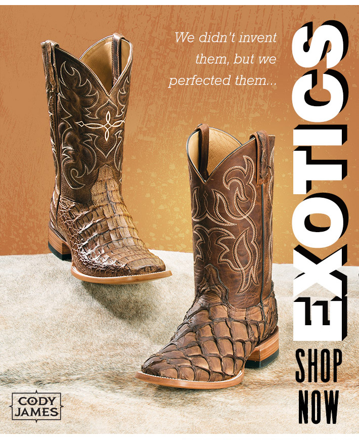 147001e1702 BootBarn.com: We Perfected Them - Exotic Boots | Milled
