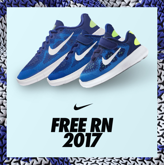 Introducing Nike Free RN 2017 for Kids