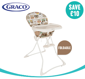 Graco Teatime Bow Time Bear High Chair