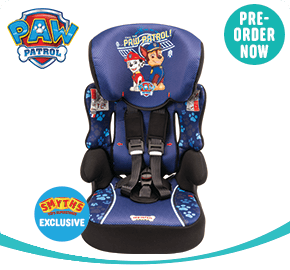 Paw Patrol Beline Group 1-2-3 Car Seat