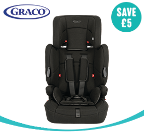 Graco Endure Group 1-2-3 Car Seat Black