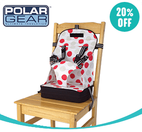 Baby Polar Gear Travel Booster Seat