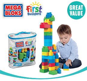 Mega Bloks First Builders Big Building Bags