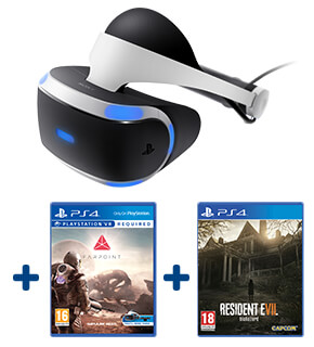 PlayStation VR & Farpoint and Resident Evil 7