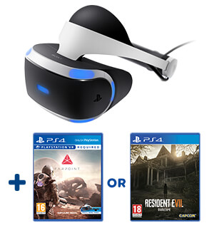 PlayStation VR & Farpoint or Resident Evil 7