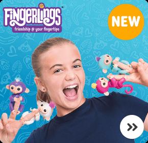 WowWee Fingerlings Baby Monkeys