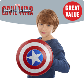 Marvel Captain America: Civil War Magnetic Shield and Gauntlet