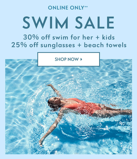 Shop Swim Sale
