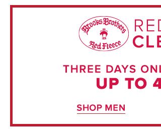RED FLEECE CLEARANCE | SHOP MEN