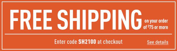 Sportsman's Guide's Free Standard Shipping on Your Merchandise order of $75 or More! Enter coupon code SH2100 at check-out. *Exclusions apply, see details.