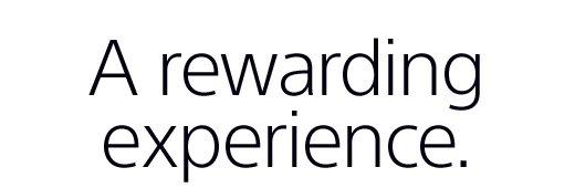 rewarding experience