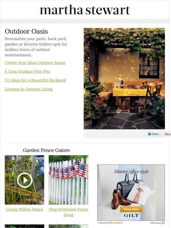 Martha Stewart Creative Outdoor Spaces Milled