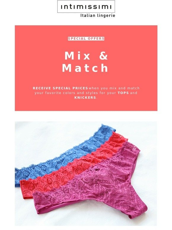 match special offers