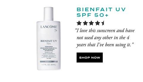 BIENFAIT UV SPF 50+ - SHOP NOW