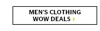 Men's Clothing Wow Deals