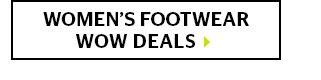 Women's Footwear Wow Deals