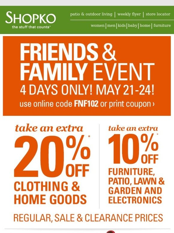 Coupons for homegoods