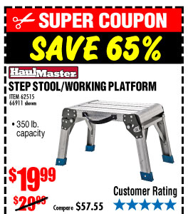 Step Stool/Working Platform  sc 1 st  Milled & Harbor Freight: MASSIVE DISCOUNTS! Save up to 78% | Milled islam-shia.org