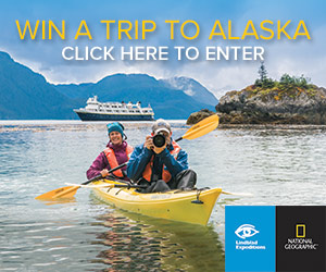 Win a Trip to Alaska - Click Here to Enter