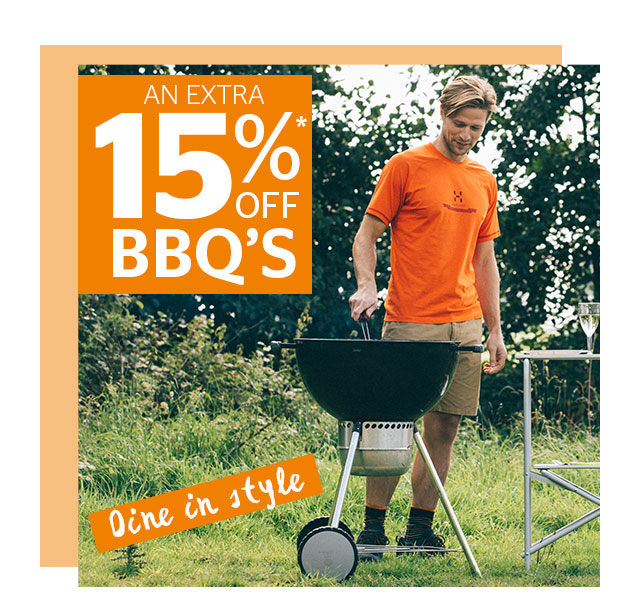 15% Off BBQ's