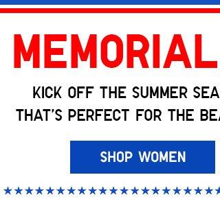 MEMORIAL DAY SALE - Shop Women