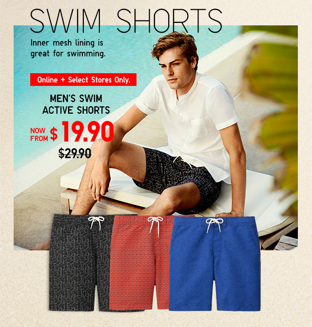 Men Swim Shorts - Shop Now