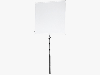 Pro Studio Solutions Sun Scrim Collapsible Frame Reflector Kit with Boom Handle and Bag (4x4')