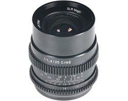 SLR Magic Cine 25mm f/1.4 Lens