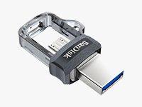 256GB USB 3.0 / micro-USB Flash Drive