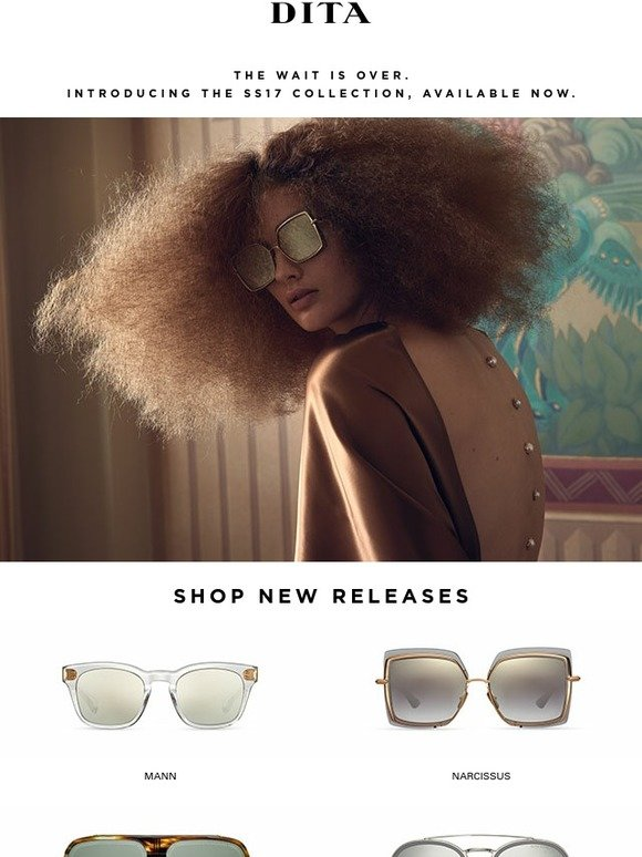 1c4b62310a Dita Eyewear  The Wait Is Over - New Collection at Dita.com
