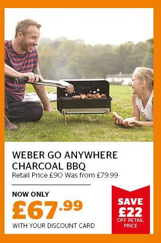 Weber Go Anywhere Charcoal BBQ