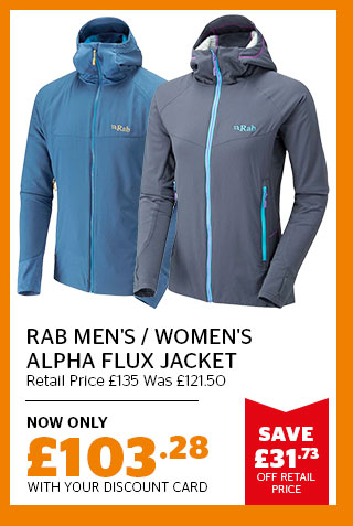 Rab Men's and Women's Alpha Flux Jacket