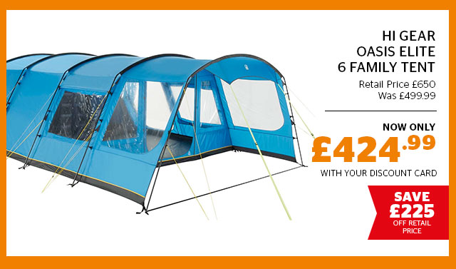 Hi Gear Oasis Elite 6 Family Tent